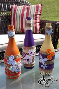 To Drink or Not to Drink? Wine Bottle Upcycling