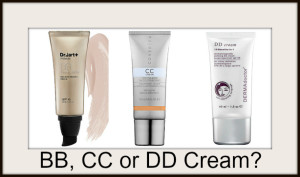 BB, CC or DD Creams?!?!