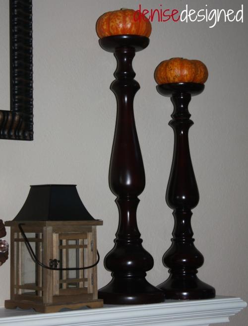 fall candle sticks