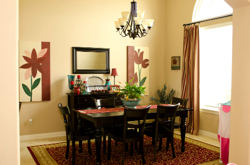 home tour dining