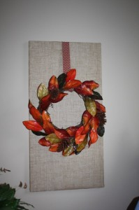 DIY Fall Burlap Wall Designs