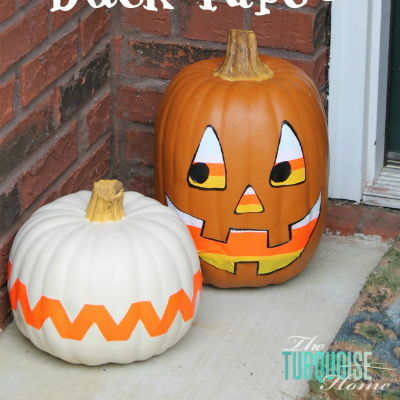 http://theturquoisehome.com/2013/10/diy-pumpkin-decor-with-duck-tape/