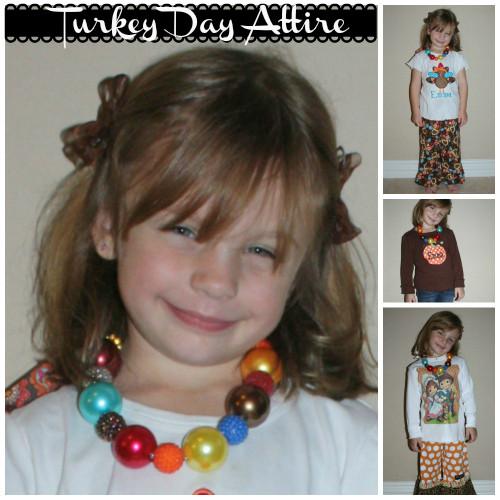 Children's Fashion – Thanksgiving Attire