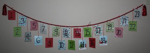 advent calendar activites