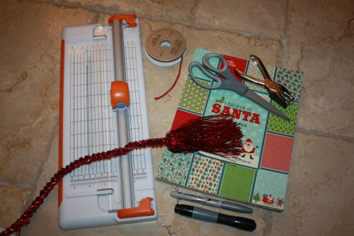 advent calendar supplies