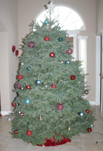 christmas home tour tree