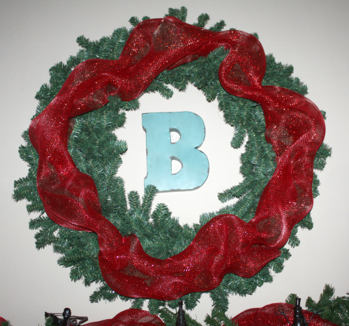 christmas home wreath