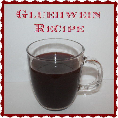 Christmas Gluehwein Recipe