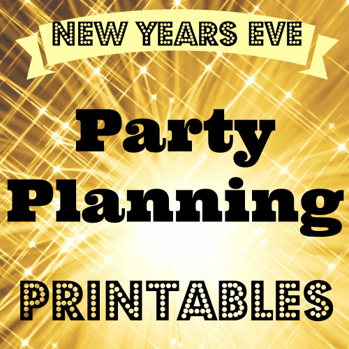 New Years Eve Party Planning Printables