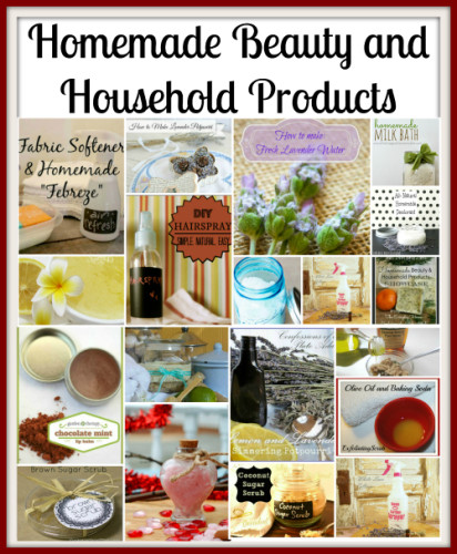 Homemade Beauty and Household Products Showcase