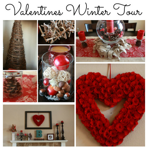 Valentines and Winter Home Tour