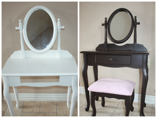 emmas vanity before after