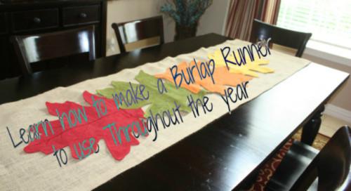 burlap table runner 640