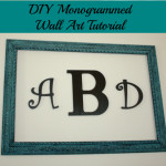 diy monogrammed wall art final 500