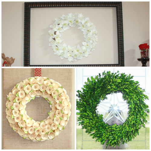 swing into spring wreaths