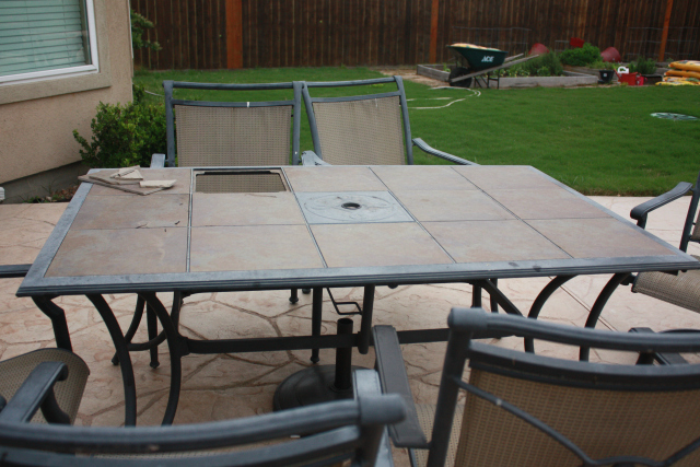 Revitalizing Outdoor Dining Table 640