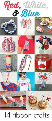Patriotic Ribbon Crafts Video Tutorials