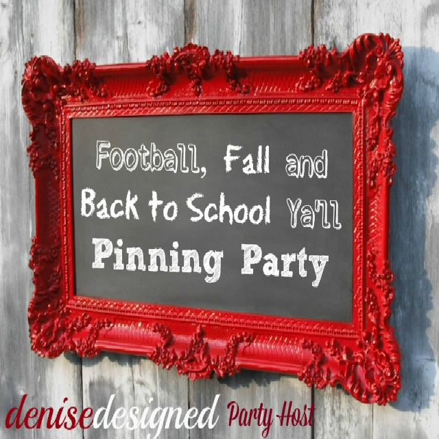 fall pinterest party square