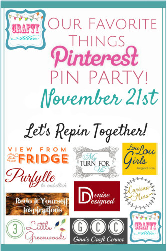 Our Favorite Things Pinterest Party {3}