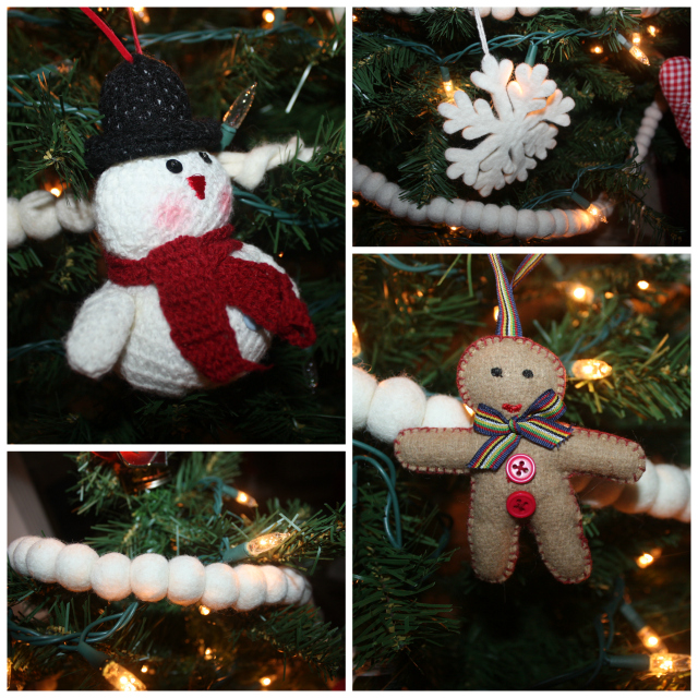 plush ornaments collage