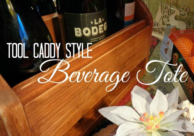 Tool Caddy Beverage tote