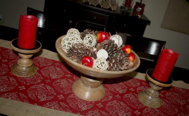 celebration of winter tour tablescape