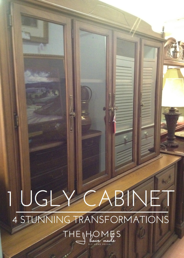 1 ugly cabinet