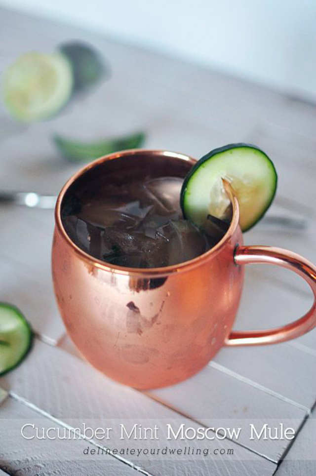 cucumber mint moscow