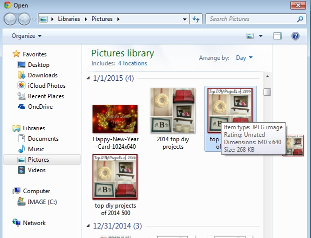 image maps select file