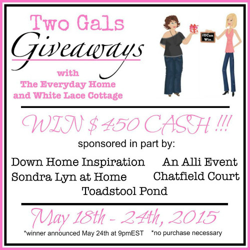 Two Gals $450 Giveaway