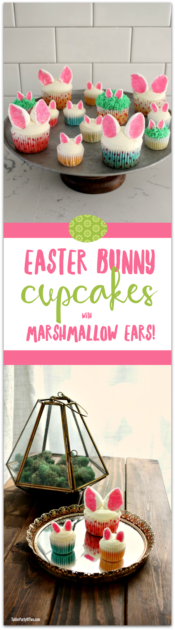 Easter-Bunny-Cupcakes-with-Marshmallow-Ears