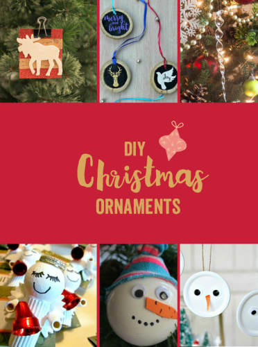 It's DIY Christmas Ornament Inspiration at Sunday Features {107}