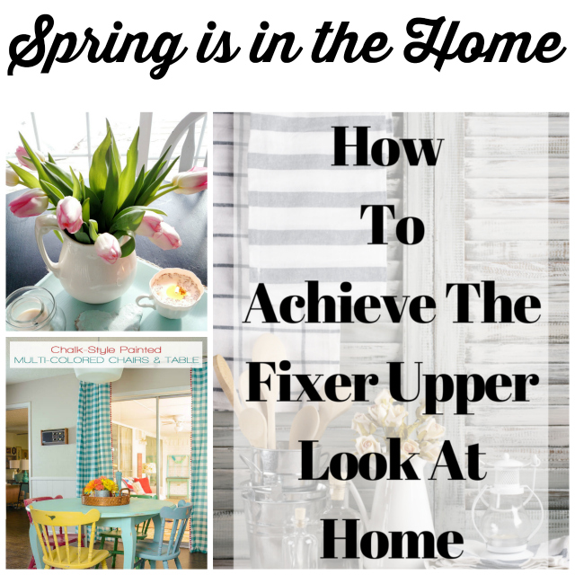 spring is in the home