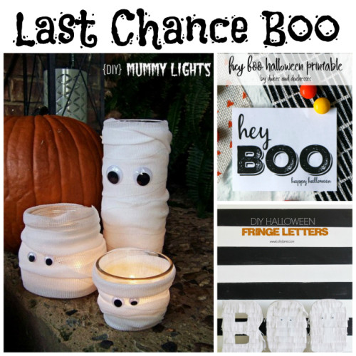Last Chance Boo at Sunday Features {149}