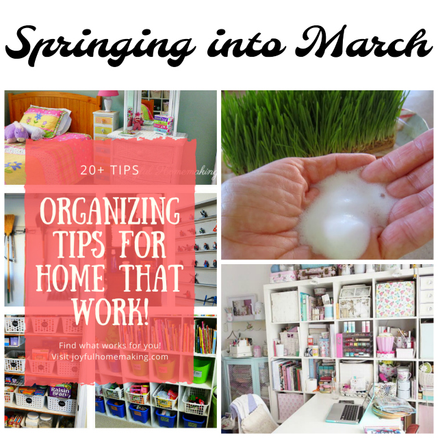 Springing into March