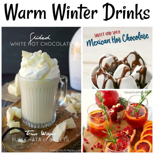 warm winter drinks